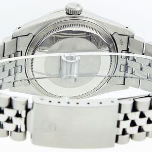 Rolex Accessories - Rolex Mens Datejust Meteorite Diamond Watch